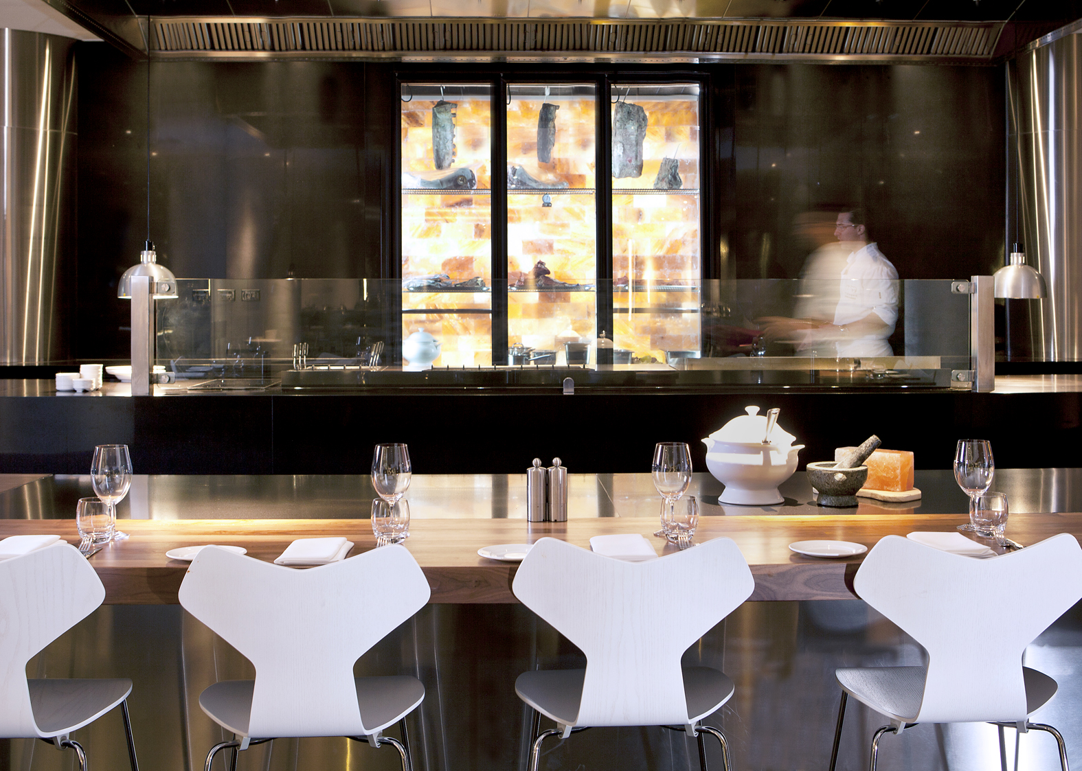 The Brisbane Hilton Hotel's Vintaged grill and chef table