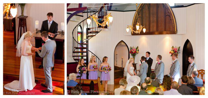 Broadway Chapel wedding with Brisbane Celebrant Jamie Eastgate