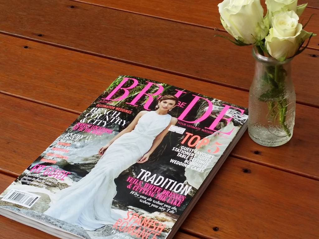 Bride to Be Magazine featuring Jamie Eastgate - Celebrant Brisbane
