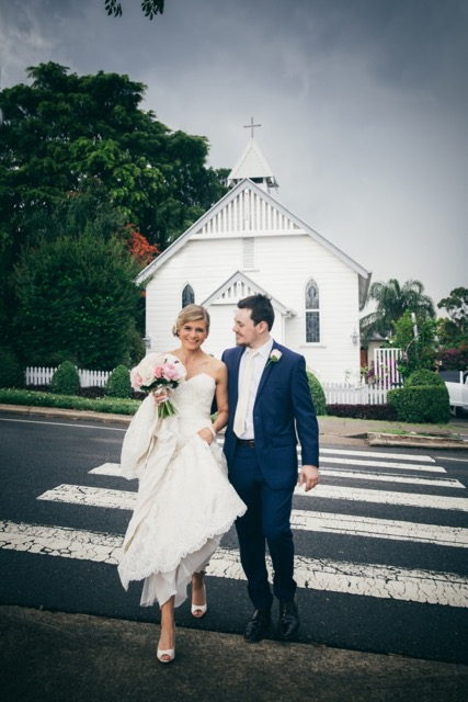 Latrobe Chapel Wedding with Celebrant Jamie Eastgate