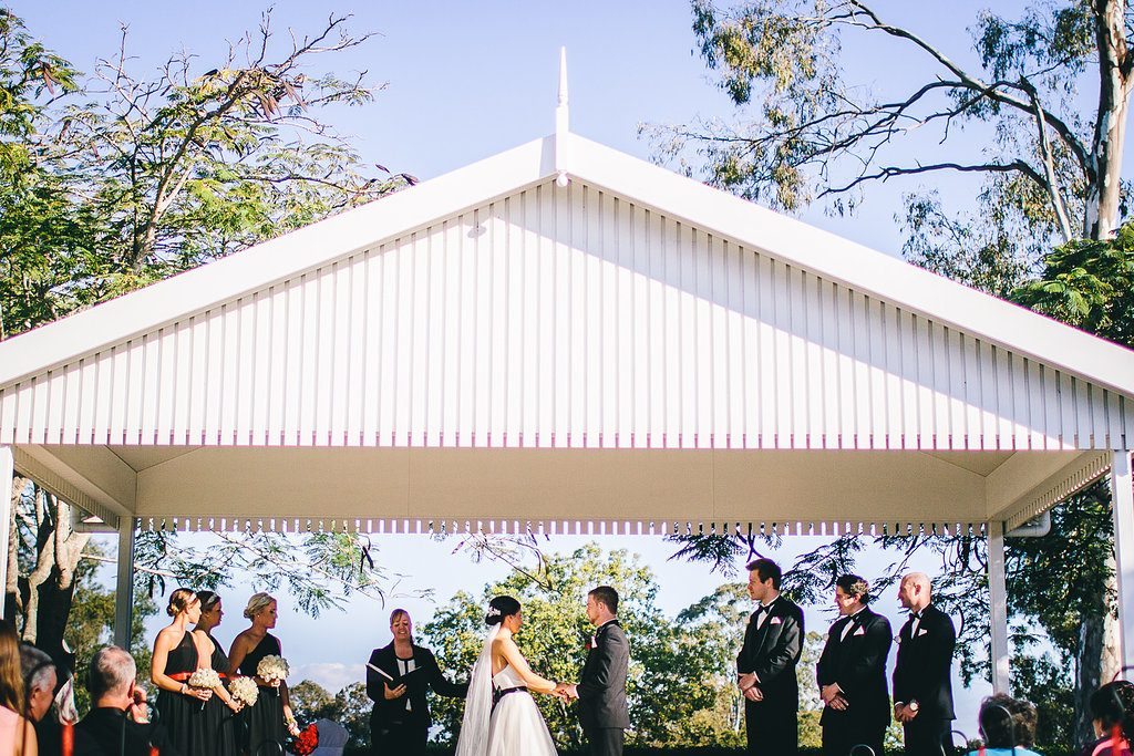 Brisbane Golf Club Wedding with Cara of Brisbane City Celebrants