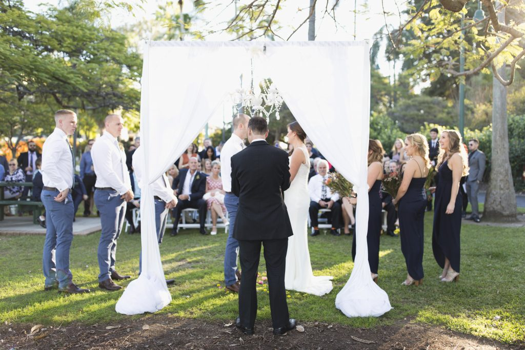 Newstead Park Wedding Ceremony