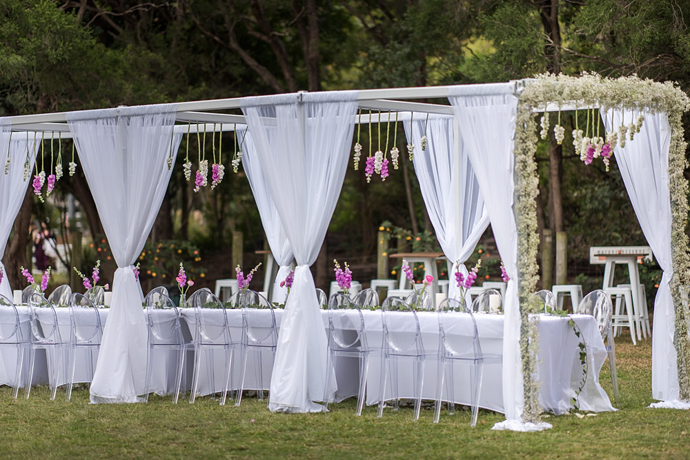 Brisbane Wedding Decorators Made An Idea Into The Most Beautiful Reality I Was So Gobsmacked When Saw Tables Chairs Arch And Floral Work