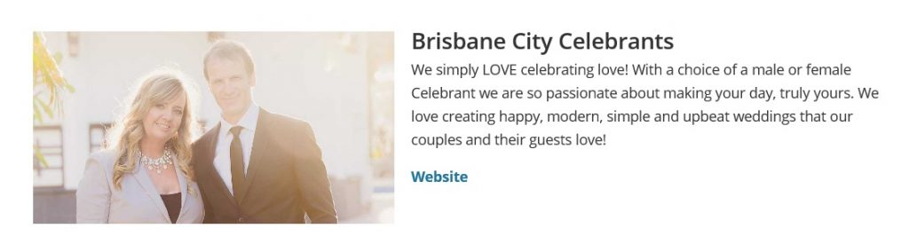 Traditional Marriage Celebrant Brisbane