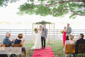 Eves on the River Wedding with Celebrant Jamie Eastgate