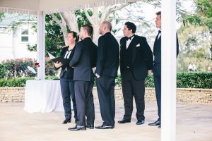 Celebrant Cara at Brisbane Golf Club Wedding