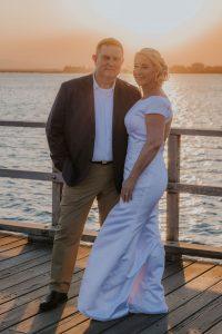 Jetty wedding photos Woody Point