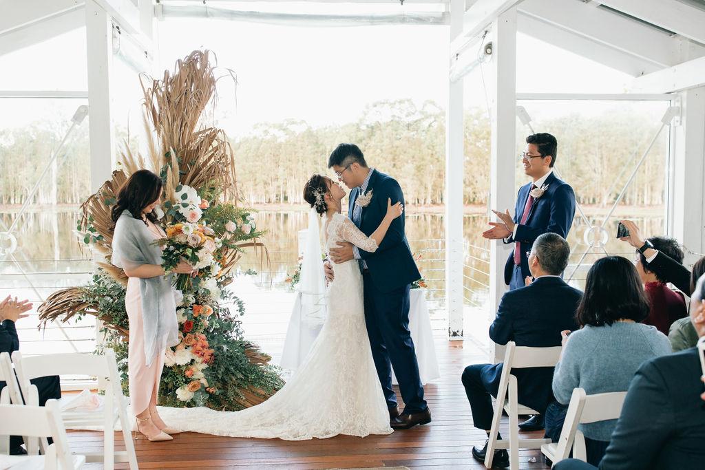 Winter wedding in QLD