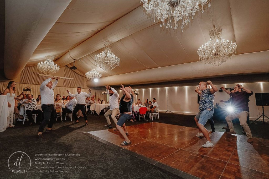 haka wedding dance