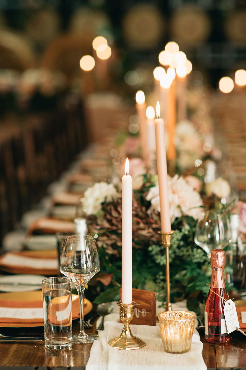 Winter wedding reception styling Brisbane