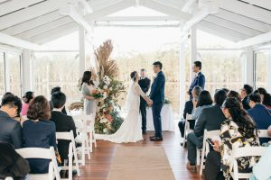 Winter wedding in Queensland